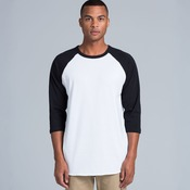 AS Colour - 3/4 Raglan Baseball Sleeve Tee